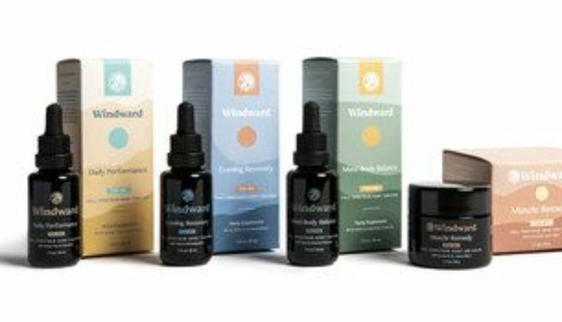 Announcing Windward, A New Collection Of Organic CBD Products Made With Health Benefiting Botanicals